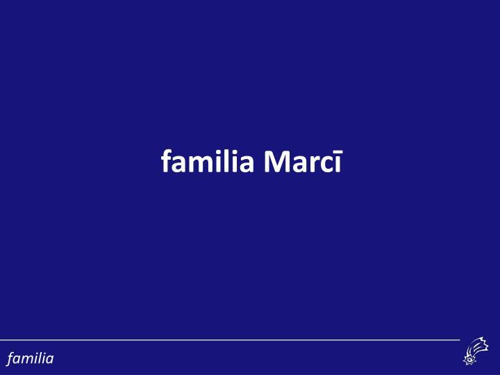 familia Marc