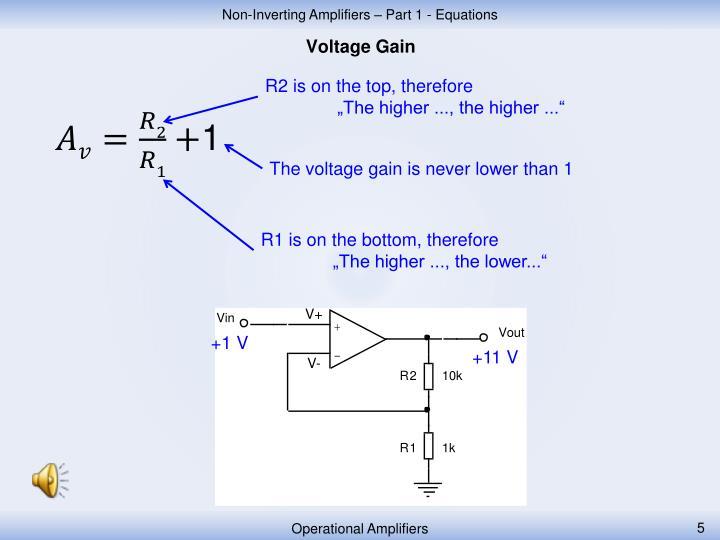 Voltage Gain