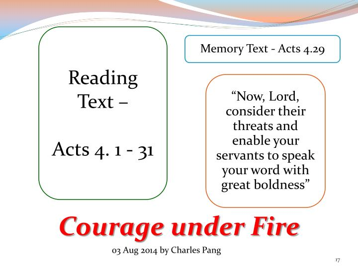 Reading Text –