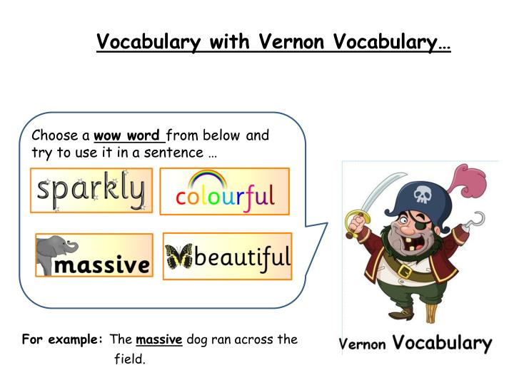 Vocabulary with Vernon Vocabulary…