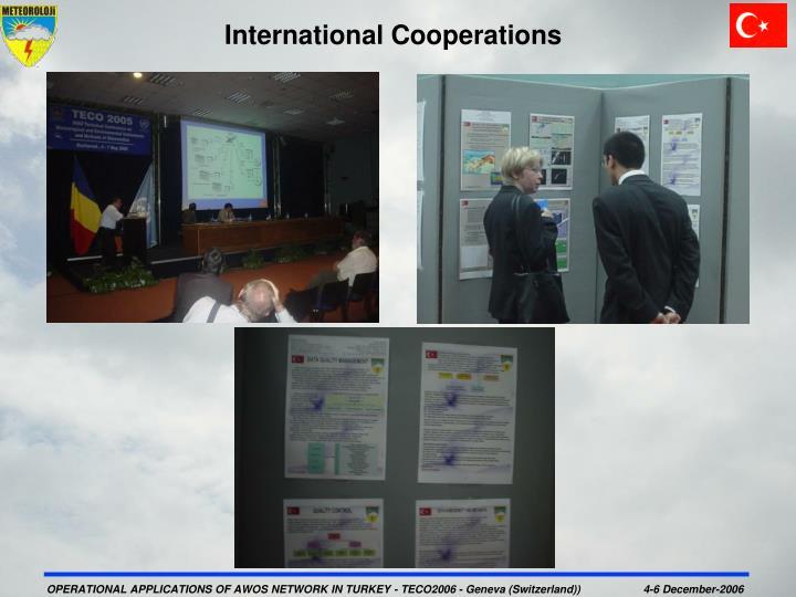 International Cooperations