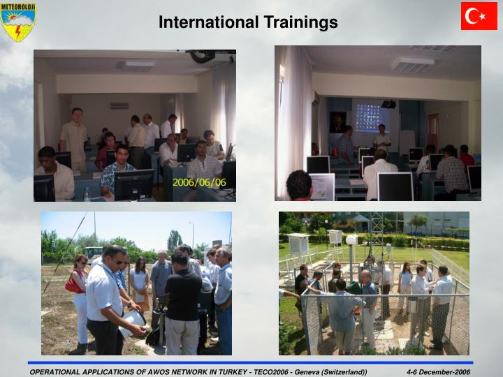 International Trainings