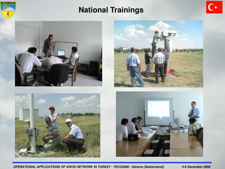 National Trainings