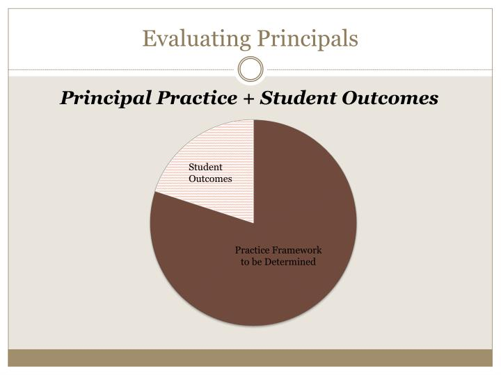 Evaluating Principals