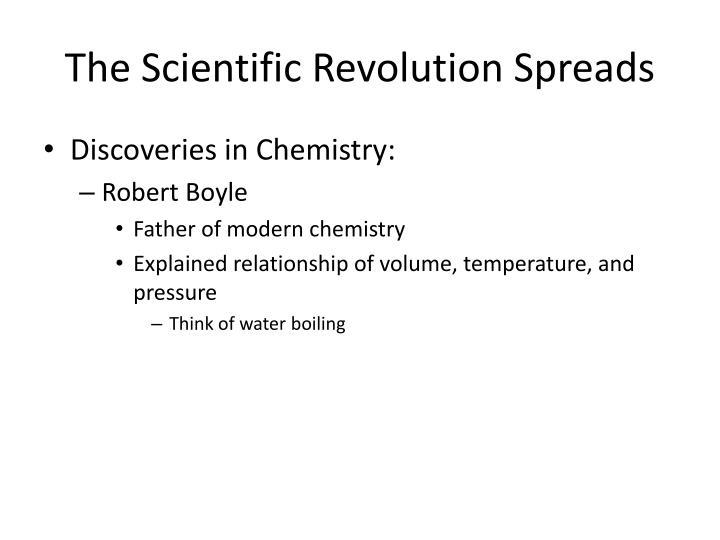 The Scientific Revolution Spreads
