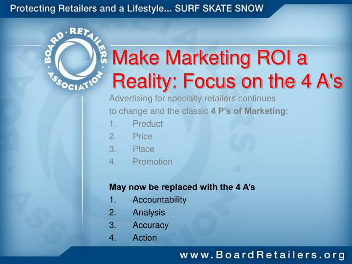 Make Marketing ROI a