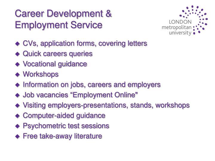 Career Development & Employment Service