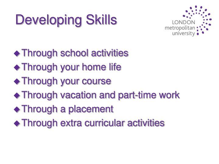 Developing Skills