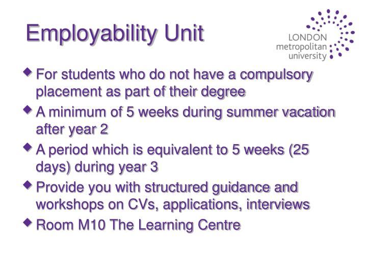 Employability Unit