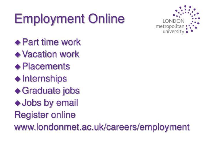 Employment Online