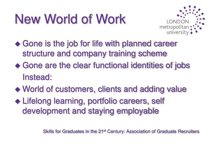New World of Work