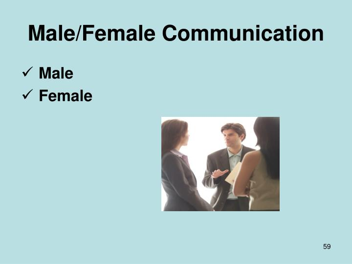 Male/Female Communication