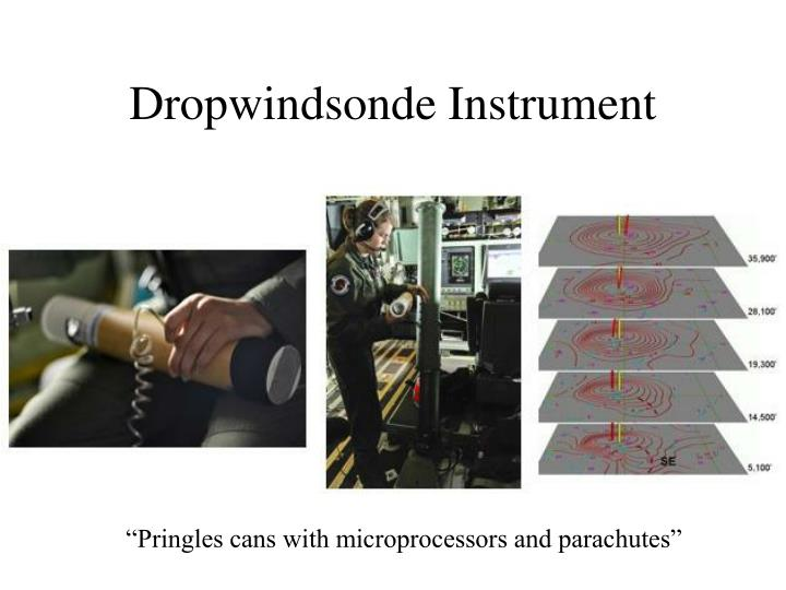 Dropwindsonde Instrument