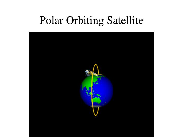 Polar Orbiting Satellite