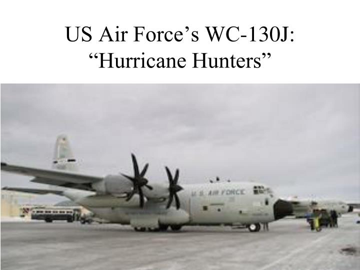 US Air Force's WC-130J: