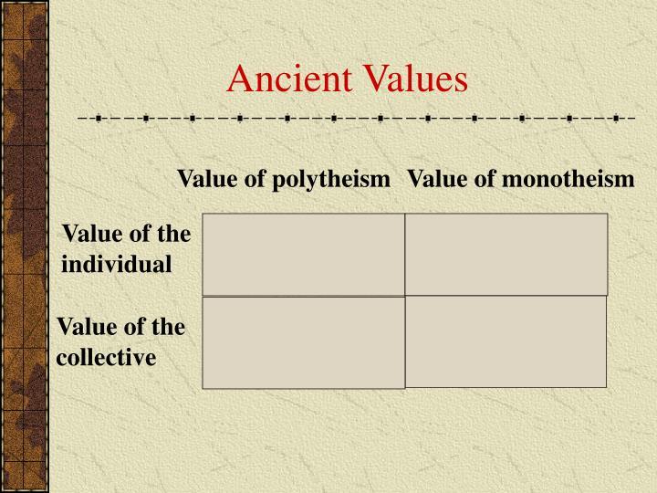 Ancient Values