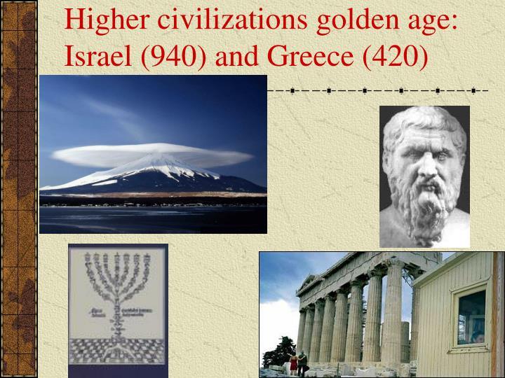 Higher civilizations golden age: