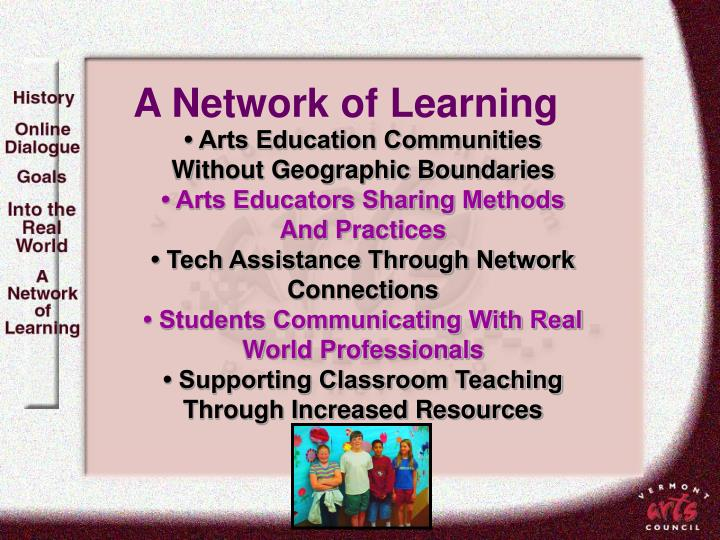 A Network of Learning