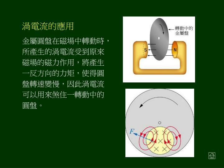 渦電流的應用