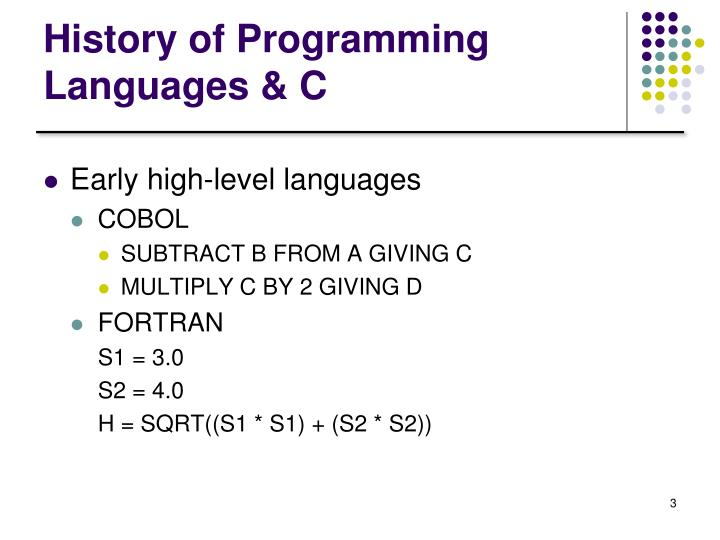 History of programming languages c1