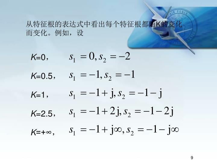 从特征根的表达式中看出每个特征根都随