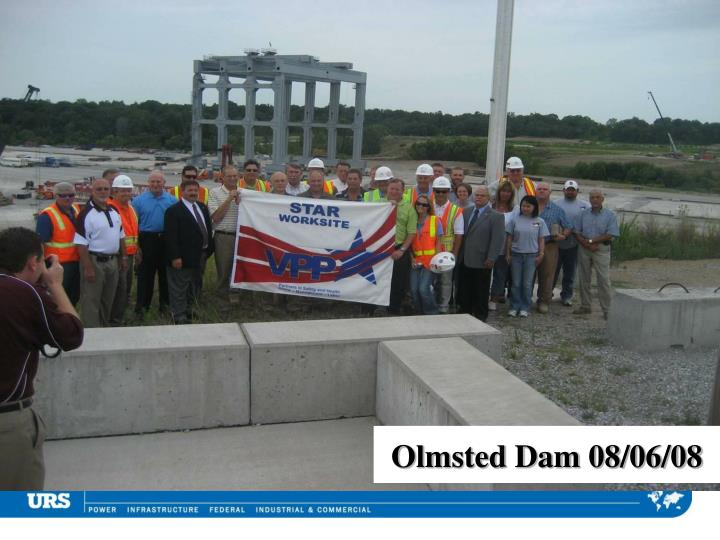 Olmsted Dam 08/06/08