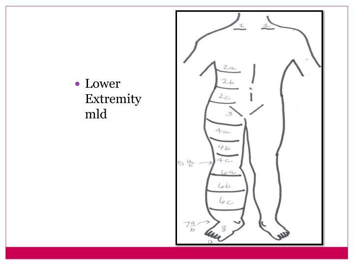 self manual lymph drainage arm