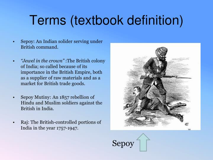 Terms (textbook definition)