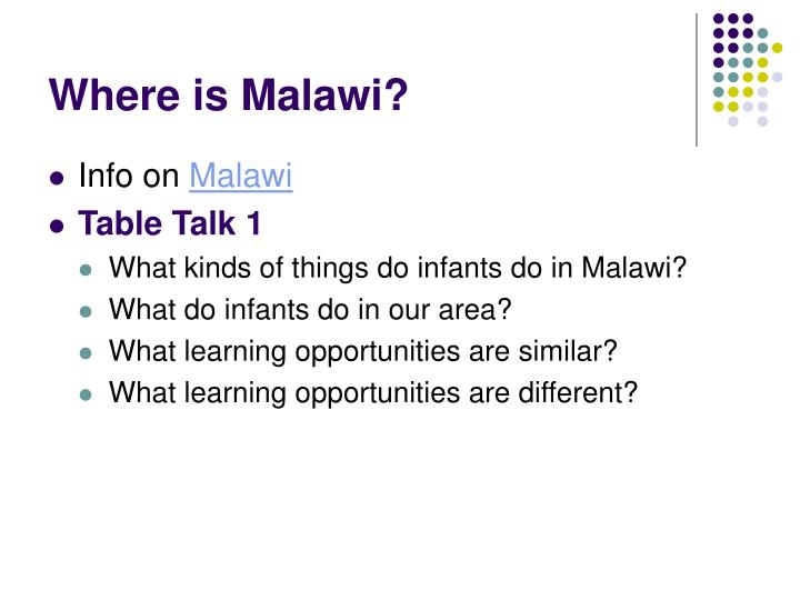 Where is Malawi?