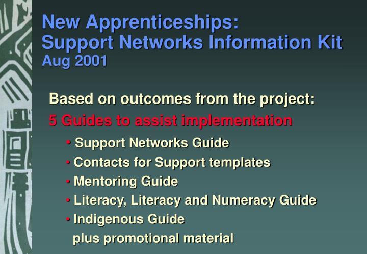 New Apprenticeships: