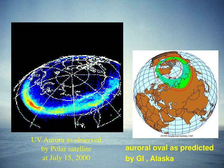 UV Aurora as observed by Polar satellite
