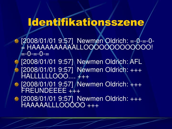 Identifikationsszene