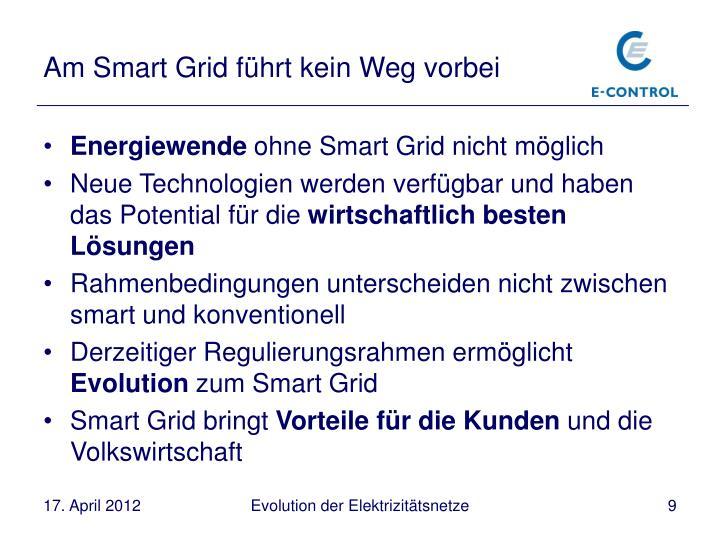 Am Smart Grid führt kein Weg vorbei