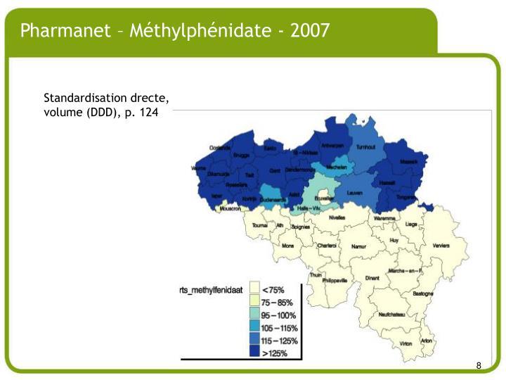 Pharmanet – Méthylphénidate - 2007