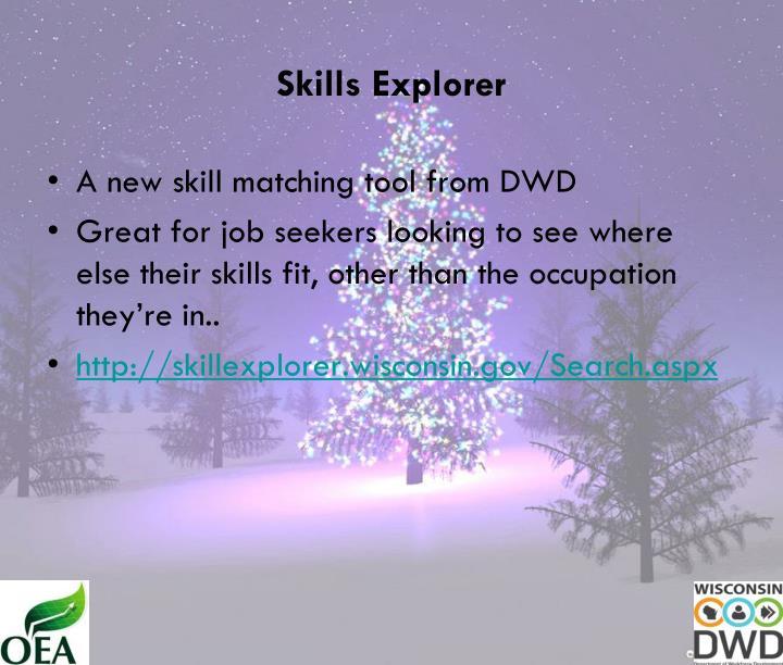 Skills Explorer