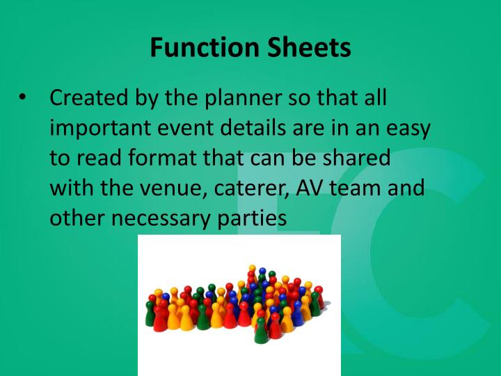 Function Sheets
