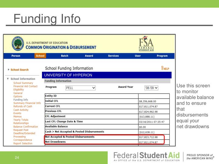Funding Info