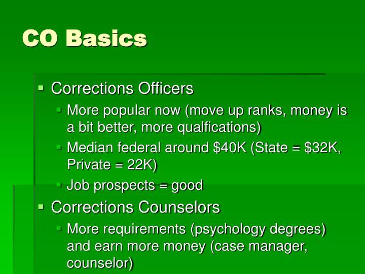 CO Basics