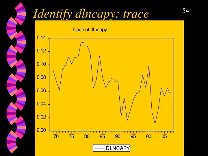 Identify dlncapy: trace