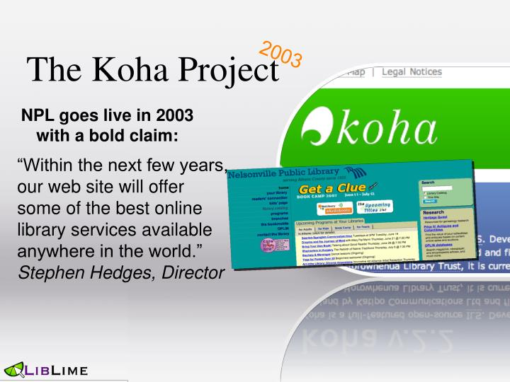 The Koha Project