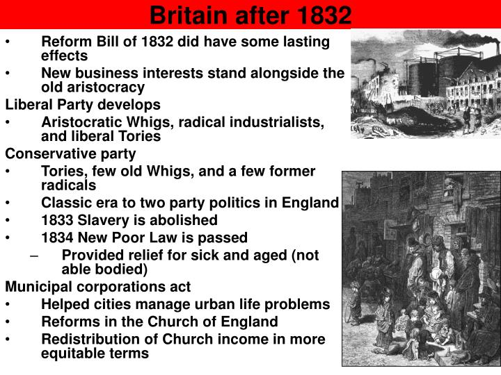 Britain after 1832