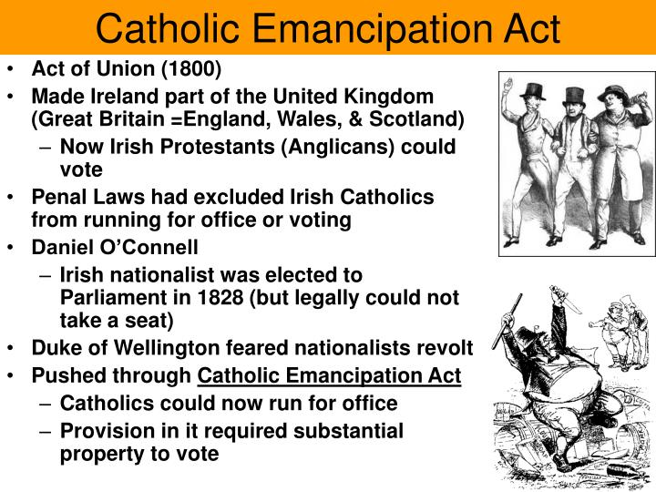 Catholic Emancipation Act