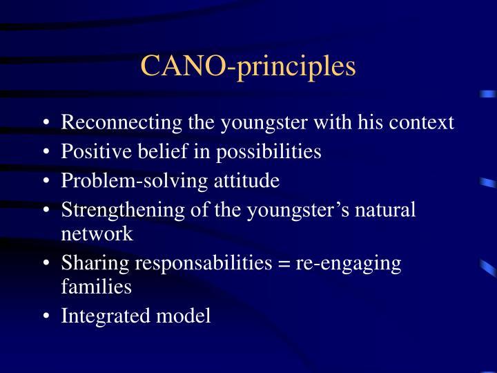 CANO-principles