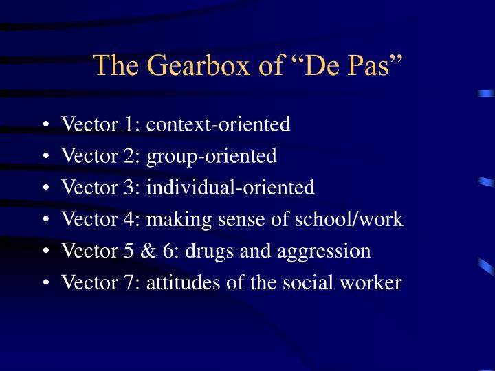 "The Gearbox of ""De Pas"""