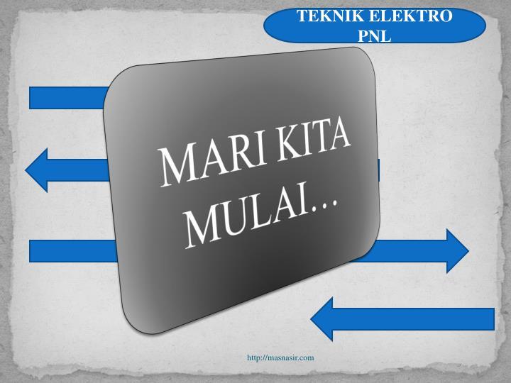 TEKNIK ELEKTRO PNL