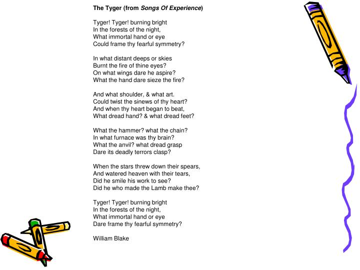 The Tyger (from