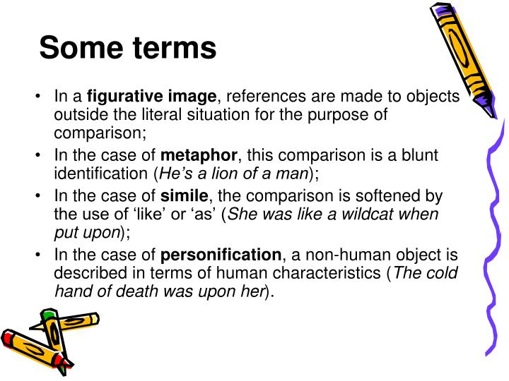 Some terms