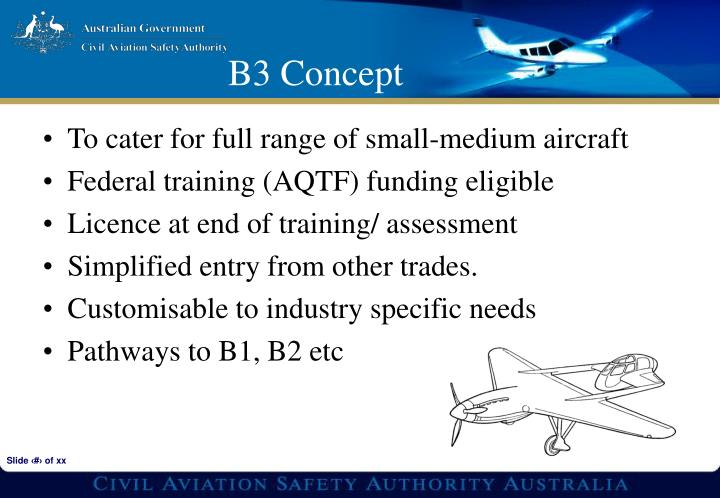 To cater for full range of small-medium aircraft
