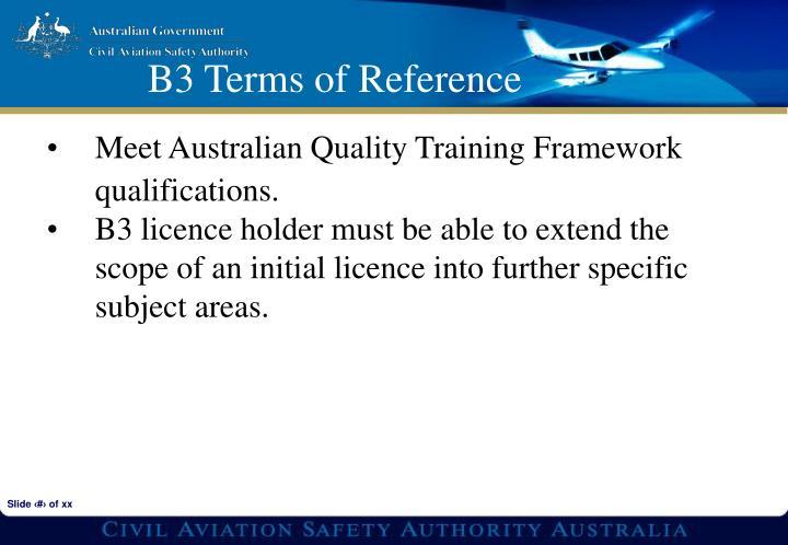 Meet Australian Quality Training Framework