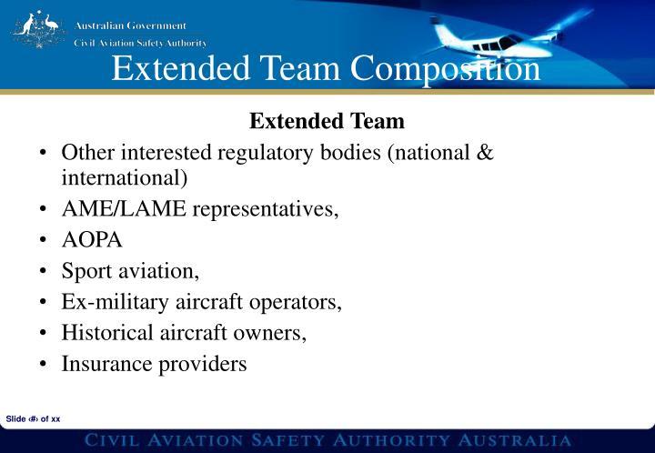 Extended Team